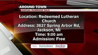 Around Town 5/1/18: Annual Rummage Sale - Video