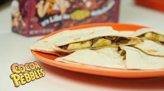 Cocoa Pebbles Quesadillas - Video