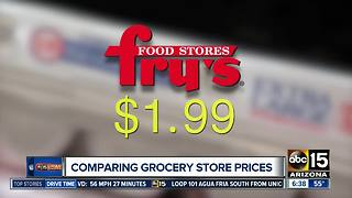 WinCo, Fry's, Safeway or Walmart? Which grocery chain has the lowest prices? - Video