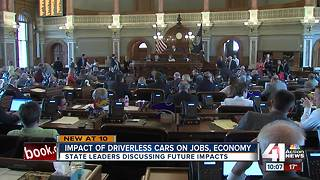 KS lawmakers discuss self-driving cars - Video