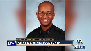 Boynton Beach chooses new police chief - Video
