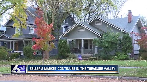 Seller's market continues in the Treasure Valley