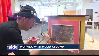 JUMP offering woodworking classes - Video