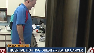 Kansas hospital fighting obesity-related cancer - Video