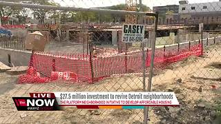 $27.5 million investment in Detroit neighborhoods - Video