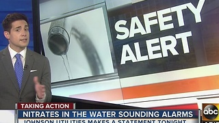 Safety Alert: High levels of nitrate found in Pinal County water - Video