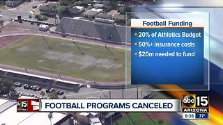 Maricopa colleges ending football programs - Video