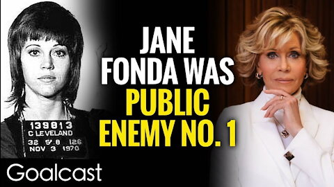 From Nixon's Enemy To Award-winning Actress Jane Fonda | Life Stories By Goalcast