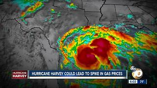 Hurricane Harvey could lead to spike in gas prices - Video
