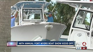 Annual 'Fort Myers Boat Show' kicks off