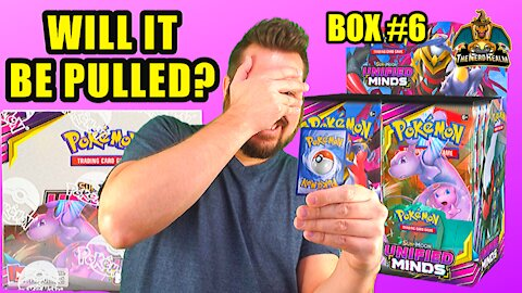 Unified Minds Booster Case (Box 6) | Mewtwo & Mew Hunting | Pokemon Opening