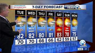 Monday night forecast - Video