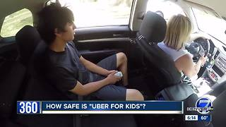 'Uber for kids' launches in Denver - Video