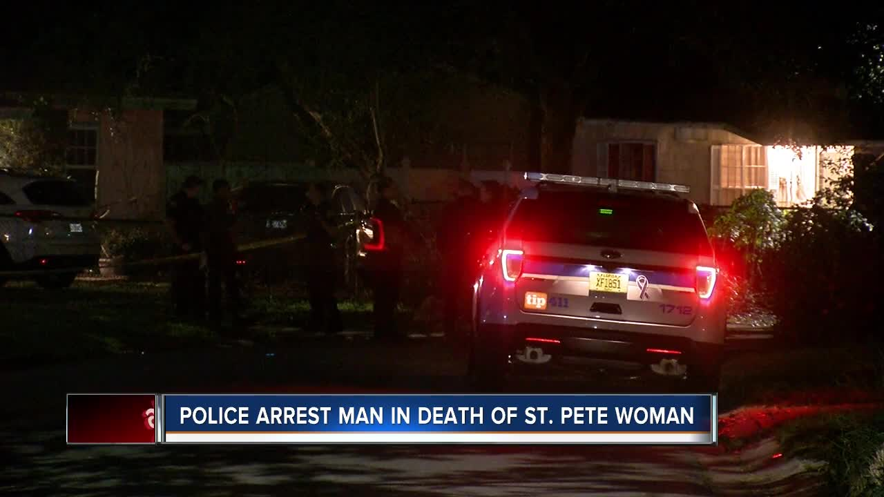 St. Petersburg man arrested, charged after woman's body found in trunk of his car, police say