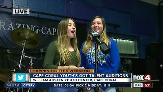 Cape Coral Youth's Got Talent holds auditions - 8:30am live report