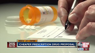 Gov. DeSantis wants to import prescription drugs from Canada to cut health care costs