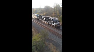 NS Train in Bryan, OH