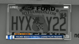 Holmes Beach to get license plate readers in January 2019