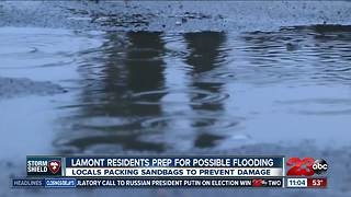 Lamont residents prep for possible flooding - Video
