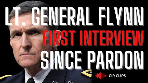 Lt. General Mike Flynn: First Interview Since Pardoned
