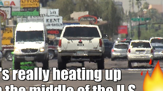 The Central U.S. is heating up - Video