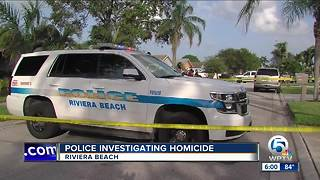 23-year-old man killed in Riviera Beach shooting - Video