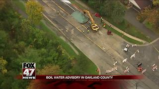 Water main break affects more than 300K people