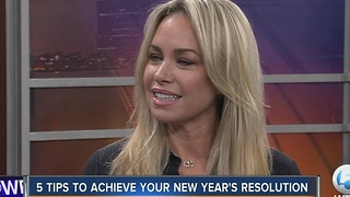 5 tips to achieve your New Year's resolution - Video