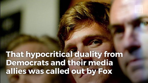 Tucker Blasts Dems Over Blatant Election Hypocrisy With Instant Classic Quote