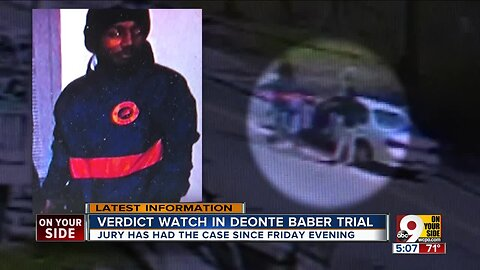 Verdict watch in Deonte Baber trial