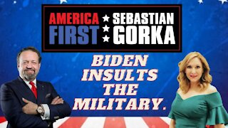 Biden insults the Military. Jessie Jane Duff with Sebastian Gorka on AMERICA First