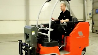 Omni directional forklift - Video
