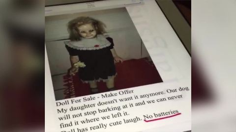 Woman Pranks Her Younger Sister with Haunted Doll For Sale