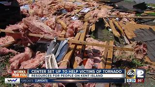 Center set up to help victims of Bay City tornado - Video