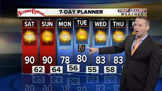 13 First Alert Weather for October 7 2017 - Video