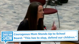 "Courageous Mom Stands Up to School Board: ""This has to stop, defend our children."""