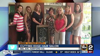 Cutting Edge Hair Salon says Good Morning Maryland! - Video