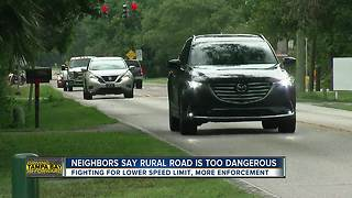 Rural two lane road more like dangerous highway, neighbors say | Driving Tampa Bay Forward - Video