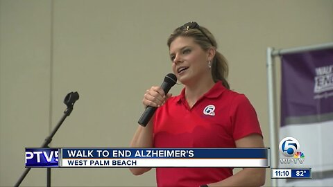 Walk to End Alzheimer's held in West Palm Beach