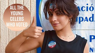 Young Hollywood goes to the polls