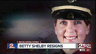 Betty Shelby resigns - Video