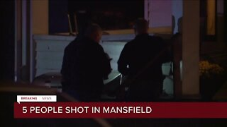 Mansfield police investigating drive-by shooting that sent 5 to the hospital, suspect still at large