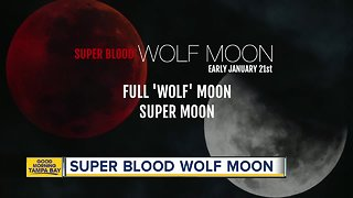 Super Blood Wolf Moon Eclipse to happen January 21