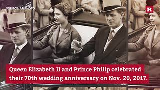 70th Royal Wedding Anniversary | Rare News - Video