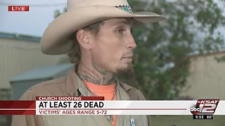 Johnnie Langendorff Raced After Devin Patrick Kelly On Texas Highway; Called Police During Chase - Video