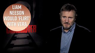 Does Liam Neeson have a crush on Vera Farmiga? - Video