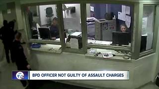 BPD officer not guilty of assault charges - Video