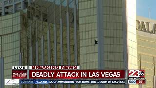 At least 59 killed in Las Vegas attack - Video