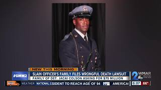 Family suing after undercover officer killed by officer