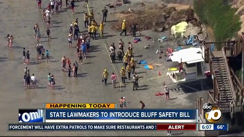 California lawmakers to introduce bluff safety bill